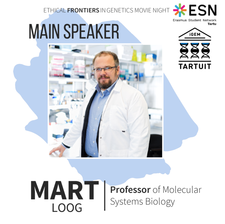 Professor Mart Loog is the main speaker at Estonia iGEM &ESN Science Night